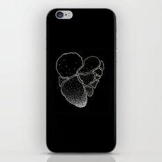 BLACK HEART iPhone & iPod Skin