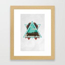 Native Exploration Framed Art Print