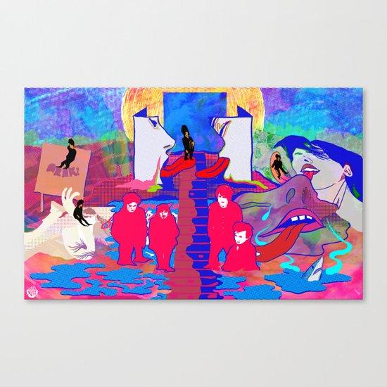 """m b v"" by Steven Fiche Canvas Print"