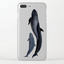 False killer whale Clear iPhone Case