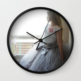Parisian Beauty Wall Clock