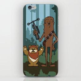 EP6 : Chewbacca & Widdle iPhone Skin