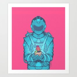 Life's Last Light Art Print