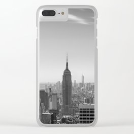 New York City - Empire State Building Clear iPhone Case