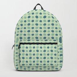 Spring Flower Daisy Stripes Seamless Pattern Backpack