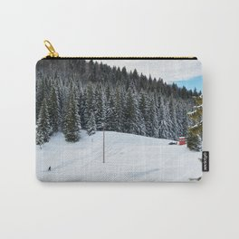 End of the sledding day Carry-All Pouch