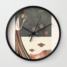 "Wonderful Nature. Collection ""A Smile for happiness"" Wall Clock"