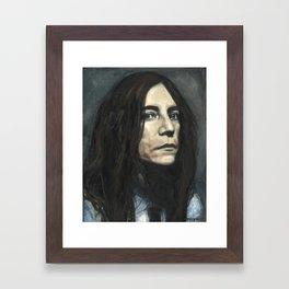 Patti Smith Framed Art Print