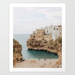September in Apulia Art Print