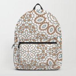 Multi-colored ornament 19 Backpack
