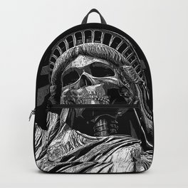Liberty or Death B&W Backpack
