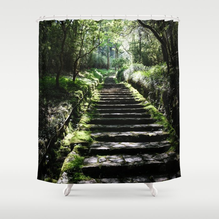 Rikyuu Road Shower Curtain