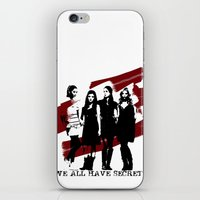 pretty little liars iPhone & iPod Skins featuring Pretty Little Liars by Rose's Creation