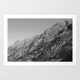 Mountain Road (Wanaka, New Zealand) Art Print