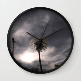 Nula'ain (Breathe) Wall Clock