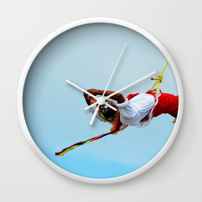 Flying artist collection _03 Wall Clock