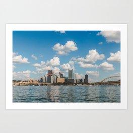 Pittsburgh Landscape Art Print