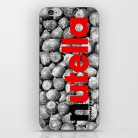 nutella iPhone & iPod Skins featuring Nutella + Forever by Sheltered Lake