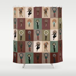 The Saints of Serenity Shower Curtain