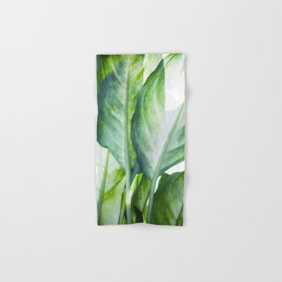 tropic abstract  Hand & Bath Towel