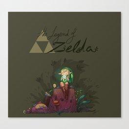 Link! Canvas Print