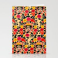frida Stationery Cards featuring Frida by Bouffants and Broken Hearts
