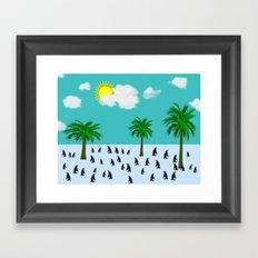 Urlaub Framed Art Print