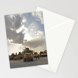 Route Clearance Platoon Army Stationery Cards