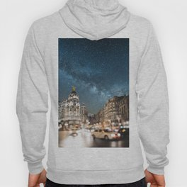 Madrid at night Hoody