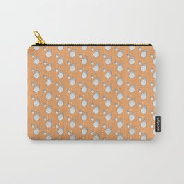 My Neighbor Pattern (Orange) Carry-All Pouch
