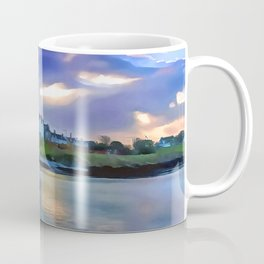 Cockle Row Cottages, Ireland. (Painting) Coffee Mug