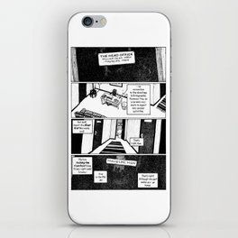 Johnny Public chapter 10, page 9 iPhone Skin