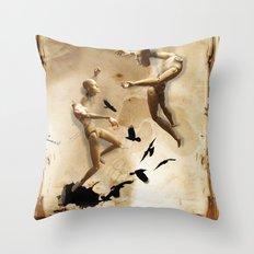 Tarot series: The Lovers Throw Pillow