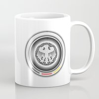 germany Mugs featuring Germany Crest by George Williams