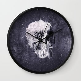 Decay Skull Wall Clock