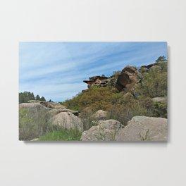 Rocky Canyon Metal Print