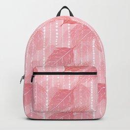 Boho Blush and Beads - Pink Backpack