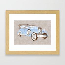 Vintage saloon - hoon Framed Art Print