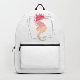 Pinky Seahorse Backpack