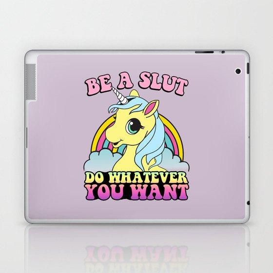 Be a Slut Laptop & iPad Skin