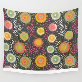 abstract organic texture Wall Tapestry