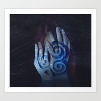celtic Art Prints featuring Celtic by Severine A. Raynaud