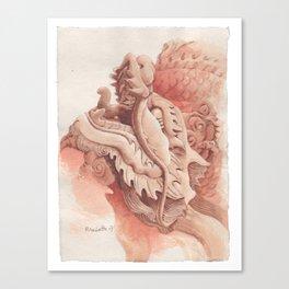 Chinese Auspicious Beast Dragon Canvas Print