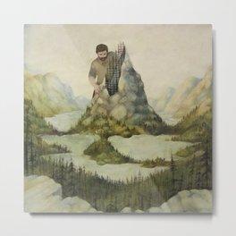 Mountains out of Molehills Metal Print