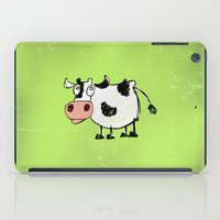 cow iPad Cases featuring Cow by Mr and Mrs Quirynen