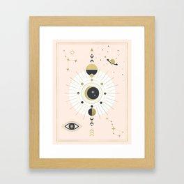 The Spring Moon Framed Art Print