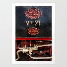 The Hijaz Railway  Art Print