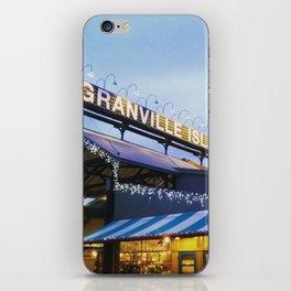 Granville Island iPhone Skin