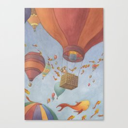 Fields of Fish Canvas Print