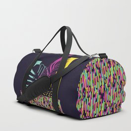 Neon Tropical #society6 #tropical Duffle Bag